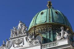 Hofburg-Palast - Wien - Österreich Stockfotos