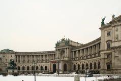 Hofburg - a residência oficial do presidente de Áustria Imagem de Stock