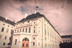 Hofburg retro imagem de stock royalty free