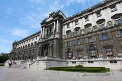 Hofburg slott royaltyfri foto