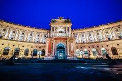 Hofburg slott Wien Arkivfoto