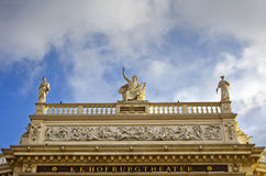 Hofburg theater facade in Vienna, Austria Stock Photo