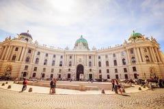 Hofburg, Viena fotografía de archivo libre de regalías