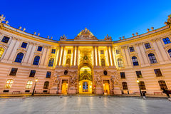 Hofburg, Vienna, Austria Royalty Free Stock Photos