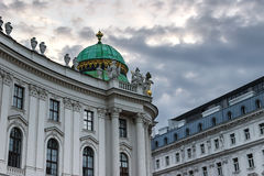 Hofburg Vienna. Former Royal Palace at the Hofburg in Vienna Austria Royalty Free Stock Photos