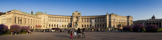 Hofburg, Vienna. Home of the austrian president Royalty Free Stock Photography
