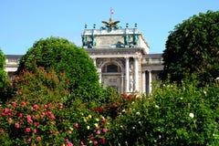 Hofburg Vienna. Landmark and historic building on the Heldenplatz Royalty Free Stock Photo