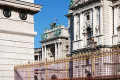 Hofburg Vienna Royalty Free Stock Photography