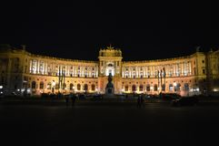 Hofburg Vienna. Hofburg Palace in Vienna. One of the most beautiful buildings in Vienna Stock Images