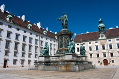 Hofburg, Vienne Photos libres de droits