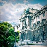 Hofburg in Wenen Stock Foto