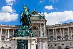 Hofburg in Wenen Stock Fotografie