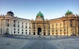 Hofburg in Wien, Österreich lizenzfreie stockbilder