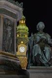 Hofburg Wien Österrike Arkivfoto