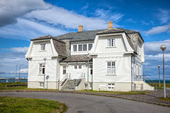 Hofdi dom w Reykjavik Iceland Zdjęcia Royalty Free