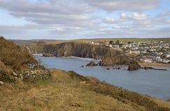 Hoffen Sie Bucht, Devon, England Stockfoto