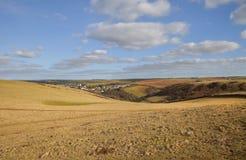 Hoffen Sie Bucht, Devon, England Stockbild