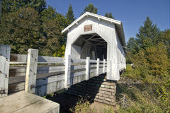 Hoffman abgedeckte Brücke 2 Lizenzfreies Stockfoto