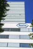 Hoffmann La Roche headquarters in Basel, Switzerland Royalty Free Stock Photo
