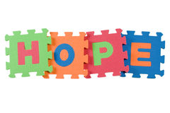 Hoffnung Stockfotos