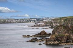 Hoffnung-Bucht in Devon Lizenzfreie Stockbilder