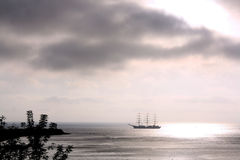 Hoffnung in dem Meer Stockfotografie