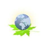 Hoffnung des besseren Weltvektors Stockbilder