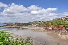 Hoffnungs-Bucht, Devon, Stockbild