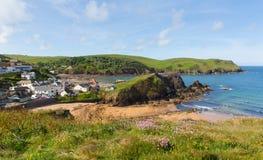 Hoffnungs-Bucht Süd-Devon England Großbritannien nahe Kingsbridge und Thurlstone Lizenzfreies Stockfoto