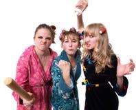 Hoffnungslose Hausfrauen stockbilder
