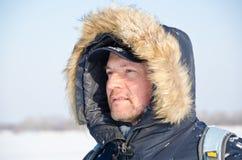 Hoffnungsloser Bergsteiger Lizenzfreies Stockfoto