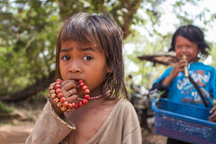 Hoffnungsloses Mädchen Lizenzfreies Stockbild