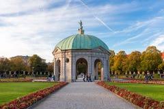 Hofgarten в полдень, Мюнхен стоковые изображения rf