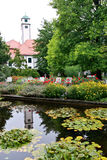 Hofgarten, Augsburg, Germany Royalty Free Stock Photography