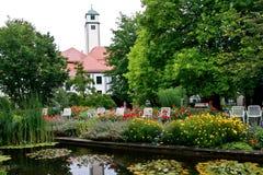 Hofgarten, Augsburg, Germany Royalty Free Stock Photo