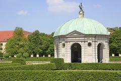 Hofgarten, Court Gardens in Munich, Bavaria. Hofgarten, Court Gardens, Dianatempel, Temple of Diana in Munich, Bavaria, Germany, Europe stock images
