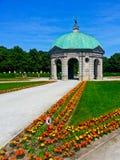 Hofgarten i Munich, Tyskland Arkivfoton