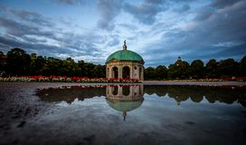 Free Hofgarten In Munich On A Rainy Afternoon Royalty Free Stock Photography - 153824907