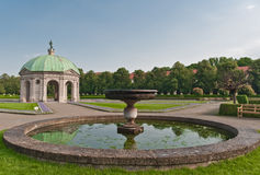 Hofgarten, Monaco di Baviera Immagine Stock Libera da Diritti
