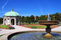Hofgarten Munich royaltyfri fotografi