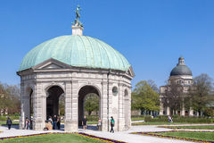 Hofgarten Munich Germany Royalty Free Stock Photos