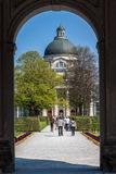 Hofgarten Munich Germany Stock Photography