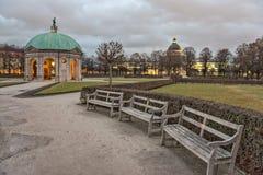 Hofgarten in Munich Stock Photo