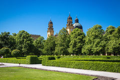 Hofgarten in Munich Royalty Free Stock Photography