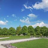 Hofgarten park in Munich Stock Photos