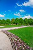 Hofgarten park in Munich spring. Hofgarten park in Munich in spring, Germany royalty free stock photography