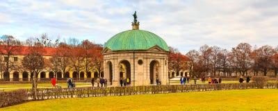 Hofgarten sądu ogród w Monachium, Niemcy Zdjęcia Stock