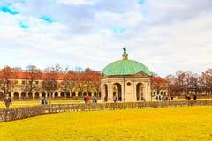 Hofgarten sądu ogród w Monachium, Niemcy Zdjęcia Royalty Free