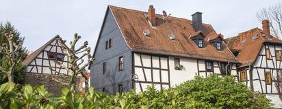 hofheim上午taunus村庄德国 库存照片