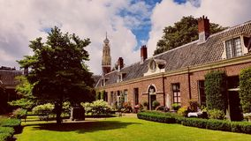 Hofje à Haarlem Image stock